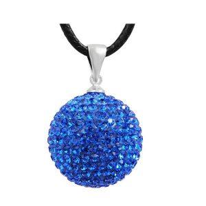 Bola de cristal bleu