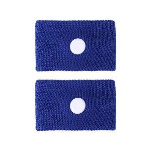Bracelet anti nausée femme enceinte bleu marine