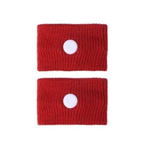 Bracelet anti nausée femme enceinte rouge