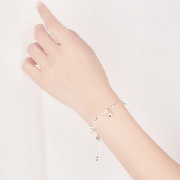 Bracelet grossesse en argent