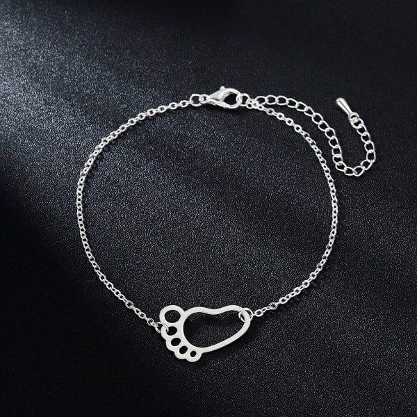Bracelet naissance maman, argenté