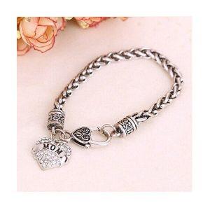 bracelet maman je t'aime, glamour